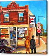 Kosher Bakery On Hutchison Canvas Print