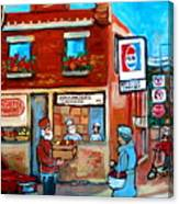 Kosher Bakery On Hutchison Street Canvas Print