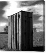 Koyl Cemetery Outhouse Canvas Print