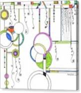 Kp Spirals Canvas Print