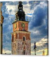 Krakow Town Hall Canvas Print