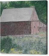 Krashes Barn Canvas Print