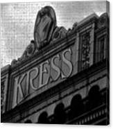 Kress 1929 Canvas Print