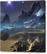 Krill City Stardock. Canvas Print