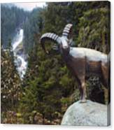 Krimml Waterfall Canvas Print