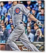 Kris Bryant Chicago Cubs Canvas Print