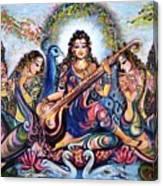 krishna - Kirtan  Canvas Print