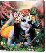 Krishna-sky Boy Canvas Print