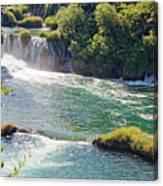 Krka National Park Waterfalls 6 Canvas Print