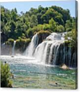 Krka National Park Waterfalls 9 Canvas Print