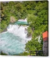 Krka Waterfall Croatia Canvas Print