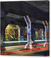Krog Street Tunnel Canvas Print
