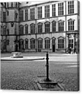 Kronborg Castle Courtyard Canvas Print