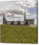 Kronborg Castle Moat Mound Canvas Print