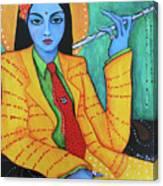 Krsna Canvas Print