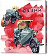Krupp Street Sweeper Canvas Print