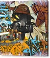 Krylon King Canvas Print