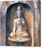 Kuan Yin Meditating Canvas Print