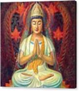 Kuan Yin's Prayer Canvas Print