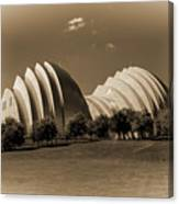 Kauffman Center Of Performing Arts Canvas Print