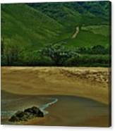 Kula'ili'i Beach Canvas Print