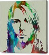 Kurt Cobain Nirvana Canvas Print