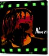 Kurt Cobain Nirvana Canvas Print