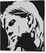 Kurt Cobain Poster Art Canvas Print