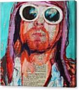Kurt Cobain Canvas Print