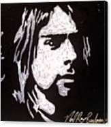 Kurt Kobain Canvas Print