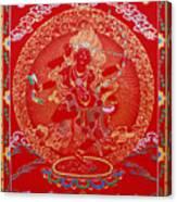Kurukulle Devi Canvas Print