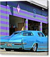 Kustom On The Riviera  Canvas Print