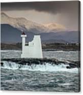 Kvitholmen Lighthouse Canvas Print