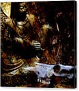 Kwan Yin Meditates Canvas Print
