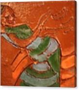 Kwepena - Tile Canvas Print