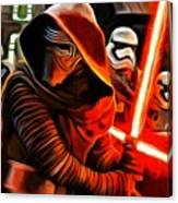 Kylo Ren And Assistants Canvas Print
