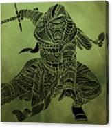 Kylo Ren - Star Wars Art  Canvas Print