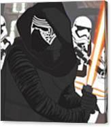Kylo Ren - Star Wars Canvas Print