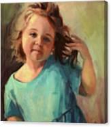 Kymberlynn Canvas Print