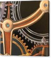 Kym's Clockwork Canvas Print
