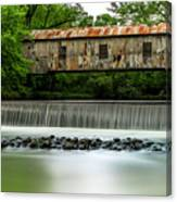 Kymulga Covered Bridge  1864 Canvas Print