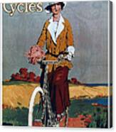 Kynoch Cycles - Bicycle - Vintage Advertising Poster Canvas Print