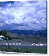 Kyrgyzstan Mountains Canvas Print