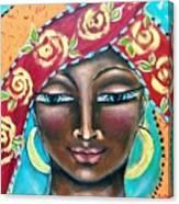 Saint Kyriaki Canvas Print