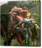 La Belle Dame Sans Merci Canvas Print