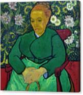 La Berceuse, Portrait Of Madame Roulin, 1888-1889, Kroller-mulle Canvas Print
