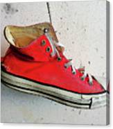 The Artists Boot Canvas Print