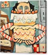 La Boulanger Francaise Canvas Print
