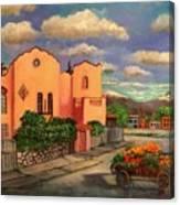 La Casa De Mi Amiga Olga Canvas Print