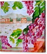 La Casa Del Vino Canvas Print